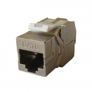 Embase RJ45 Blindée Keystone pro cat 6 FTP sans outils