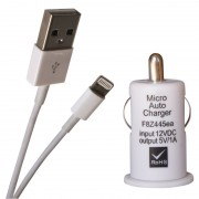 Chargeur Allume cigare pour iPhone 5 et 6 blister Waytex