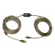 Cordon amplifié USB 2.0 A/B 10.00m