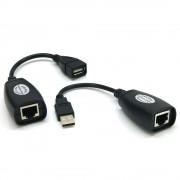 Extendeur USB 2.0 via RJ45 Cat. 5e 60.00m