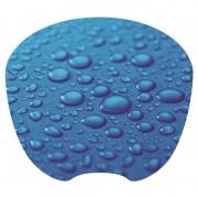 Tapis souris décor bulle extra fin surface rapide souris optique