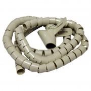 Gestionnaire de cable beige 1.50m diam 28mm Waytex