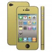 Film de protection pour iPhone 4 CARBONE OR IP4GUCFGO/PPB
