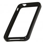 Protection bracelet silicone rigide noir pour iPhone 4 4S IP4SAFBK/PP