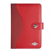 """Etui / support rouge en cuir synthétique universel pour tablette de 7.9"""" à 8.3"""""""