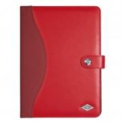 """Etui / support rouge en cuir synthétique universel pour tablette de 9.7"""" à 10.5"""""""
