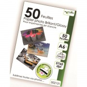 50 feuilles papier photo A6 glossery 220g