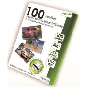 100 feuilles papier photo A6 glossery 220g