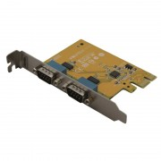 Carte PCI Express 1x 2 ports série Sunix 5437A