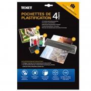 Feuilles de plastification (50pces) 75 mic 10xA4-10xA5-10xA6-20xcarte de visite