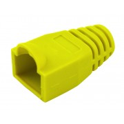 Manchon de protection souple pour connecteurs RJ45 jaune sachet de 10