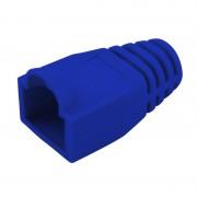 Manchon de protection souple pour connecteurs RJ45 bleu