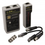 Testeur réseau multiple RJ11/12/RJ45 et Coax pro