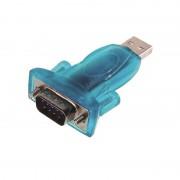 Adaptateur USB / RS232 (série) DB9M monobloc + rallonge 0.30m