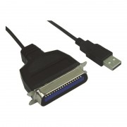 Cordon USB / Centro 36 mâle pour imprimante parallèle IEEE1284 1.20m