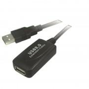 Cordon répéteur USB 2.0 A/A M/F 5.00m
