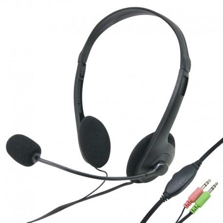 casque audio avec fil avec reglage volume