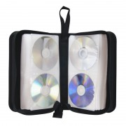 ARRET---Pochette CD transport zippée 128 CD