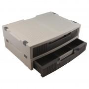 Support moniteur ou imprimante avec tiroir de rangements