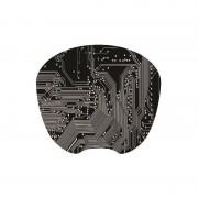 Tapis souris décor graphite extra fin surface rapide souris optique