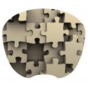 Tapis souris décor puzzle extra fin surface rapide souris optique