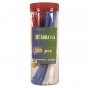Serre-câbles couleurs et longueurs assorties Lot de 300