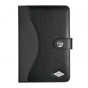 """Etui / support noir en cuir synthétique universel pour tablette de 7.9"""" à 8.3"""""""