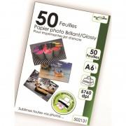 50 feuilles papier photo A6 glossery 220g