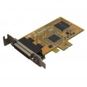 Carte PCI Express 1x Low Profile 2 ports série Sunix 5437AL