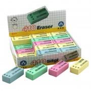 Gomme rectangulaire 39x17x12mm sans PVC multicouleurs stand 30 pièces