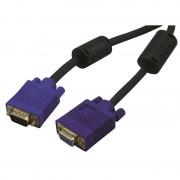 Rallonge Haute Qualité SVGA HD15 M/F connecteurs Or et ferrites 1.80m