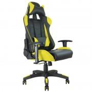 Fauteuil de bureau baquet RACING noir et jaune
