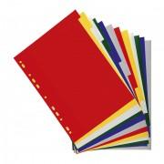 Intercalaires 12 touches couleurs en polypropylène 130 mic gris