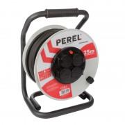 Enrouleur électrique 25.00m pro néoprène, 4 prises  protection thermique