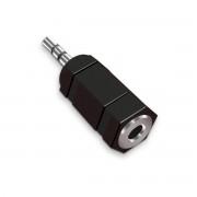 Adaptateur audio stéréo Jack 2.5mm mâle vers Jack 3.5mm femelle monobloc