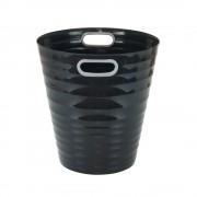 Poubelle, corbeille papier avec poignés 12,5 litres noir