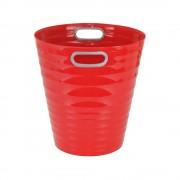 Poubelle, corbeille papier avec poignés 12,5 litres rouge