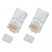 Connecteur RJ45 Cat 5e non blindé sachet de 10
