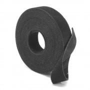 Ruban Scratch 16 mm x 5 mètres serre-cable noir réutilisable