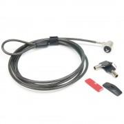Antivol plaque slot universel cable 1.80m 2 clés