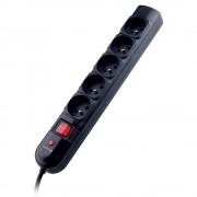 Multiprise 5 prises parasurtenseur avec cable de 3,00m 3x1mm2