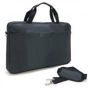 """Sacoche pour PC portable 17.3"""" et documents en nylon noir"""