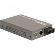 Convertisseur fibre 10/100 Base  Monomode Duplex SC 20km